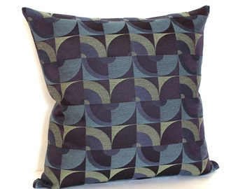 Purple Pillow Throw Pillow Cover Decorative Pillow Mod Retro Sofa Pillow Floor Cushion Sham 26x26 24x24 22x22 20x20 18x18 16x16