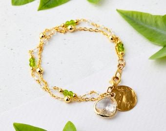 Boho Gemstone Bracelet - Boho Bracelet, Boho Jewellery, Boho Jewelry, Gemstone Bracelet, Friendship Bracelet, Charm Bracelet, UK Jewellery