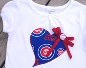 Chicago Cubs Girls' Shirt / toddler / Girls