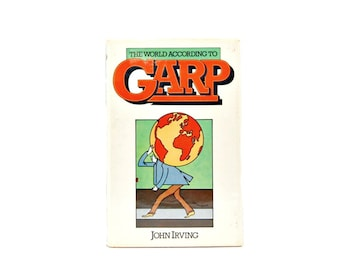 1978 World According To Garp John Irving Victor Gollancz Ltd Brian Grimwood 1970s Vintage Books Iconic 70s Novels Printed In UK