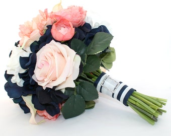 AHOY Nautical Bridal Bouquet