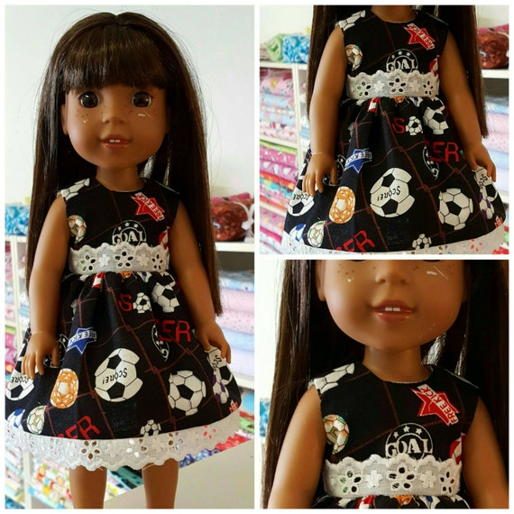 Soccer Dress For the 14 Inch Dollll Wish