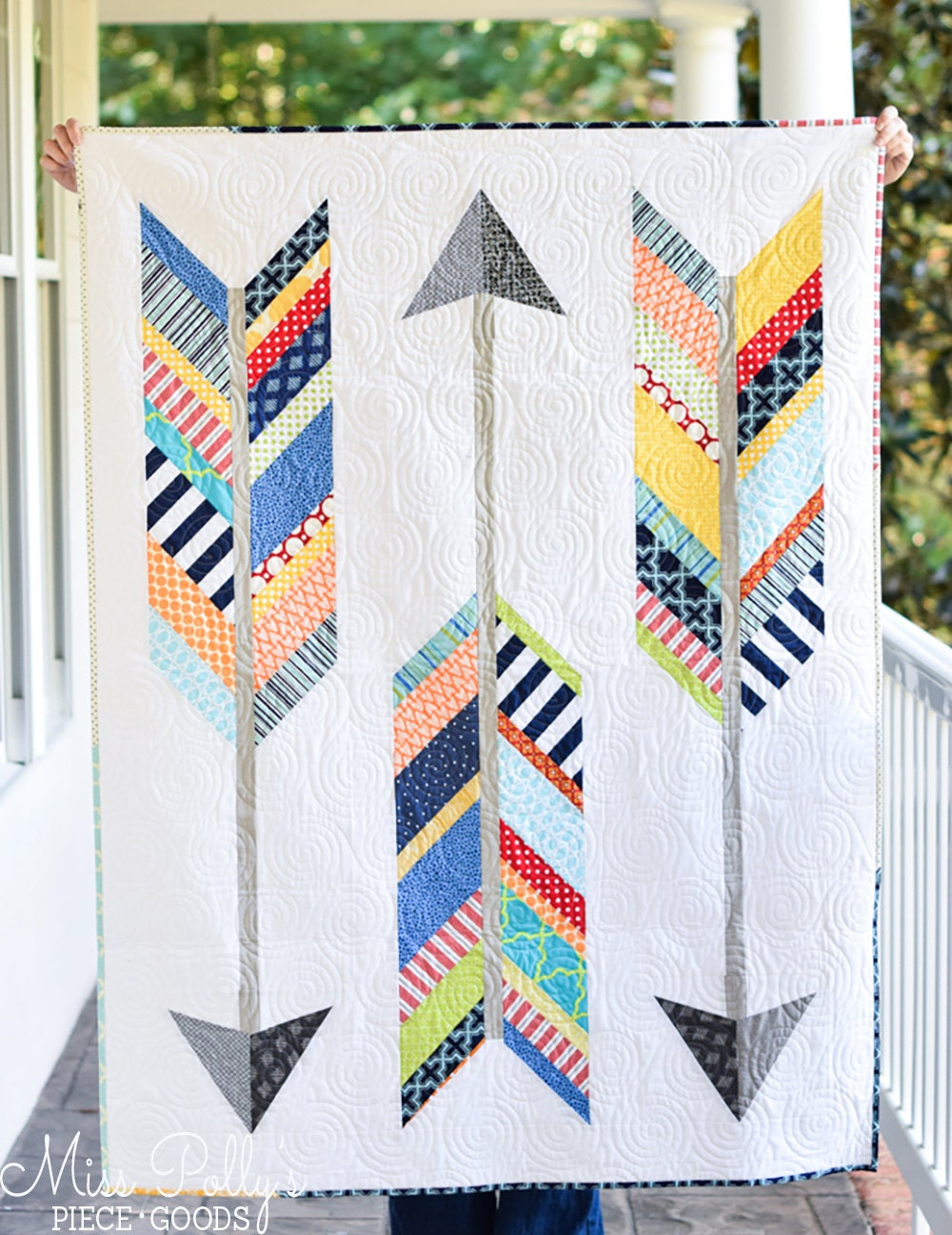 Baby Crib Bedding Patchwork Quilt Modern Quilt Arrow Quilt