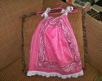 Bandana Dress  2-4T