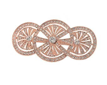 rose gold brooch, art deco brooch, rosegold brooch, broach, rose gold broach, rose gold pin, rose gold brooches, rose gold jewelry, rosegold