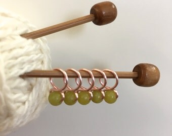 Lichen - Snag Free Knitting Stitch Markers (Small) - Fit up to size 8 US (5.0 mm)