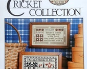 50%OFF The Cross Eyed Cricket Collection WISE WORDS Samplers Best Things In Life By Karen Hyslop - Counted Cross Stitch Pattern Chart