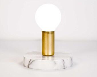 Modern minimalist brass lamp desk table lamp mid century