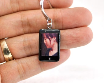 Personalized smartphone miniature Zodiac Bookmark  / personalized gift / personalized bookmark