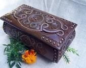 Personalized jewelry box Personalized wedding box Personalized ring box Personalized box wood Wooden box Wood carving Jewelry organizer B17