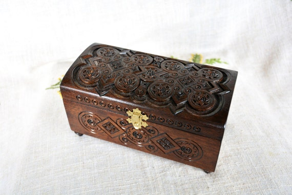 Jewelry box Wooden jewelry box Wooden box Ring box Wedding jewelry box Jewelry wooden box Jewelry ring box Jewelry organizer Wooden ring B9