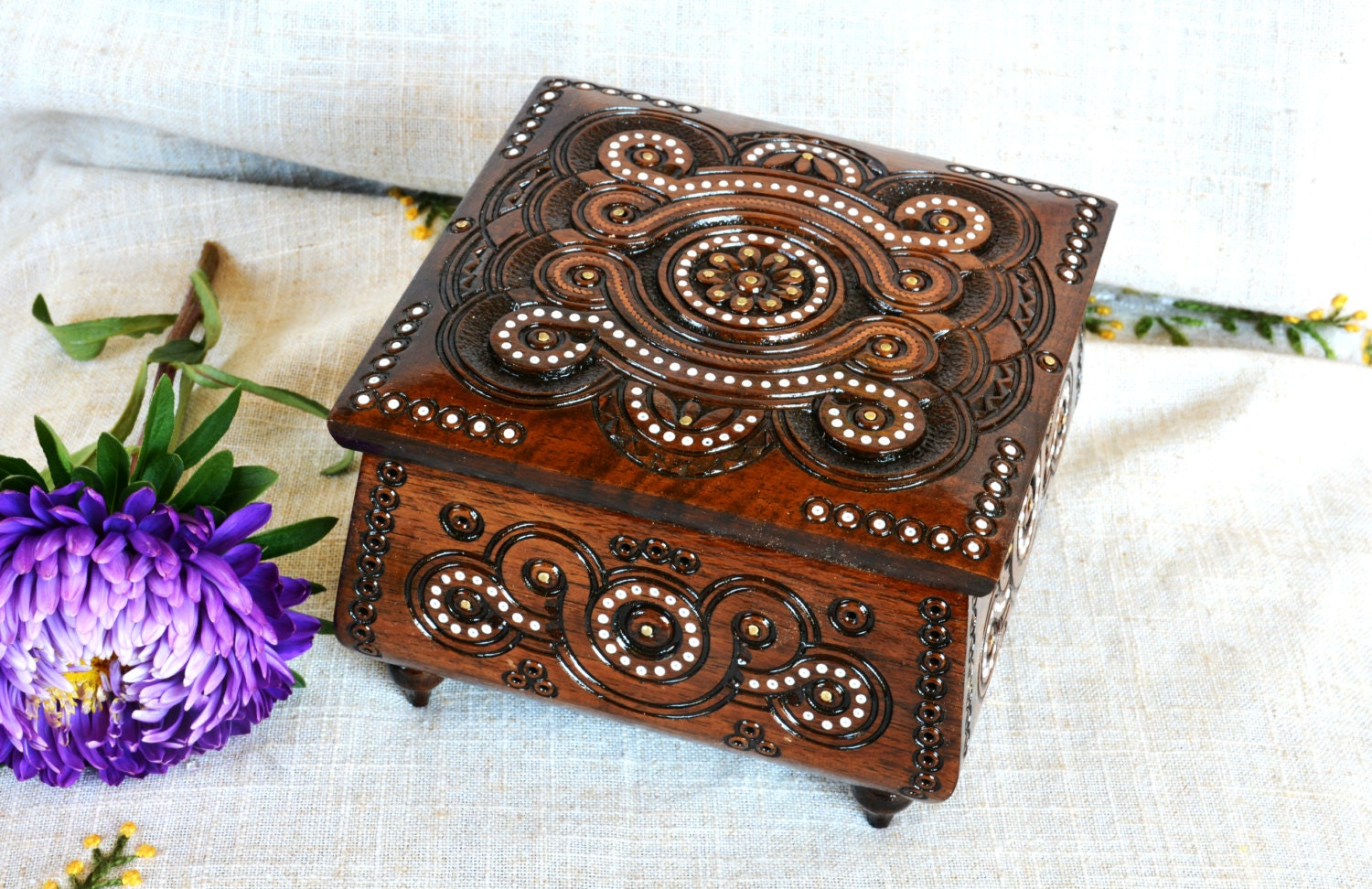 jewelry box wedding jewelry box wooden jewelry box ring box
