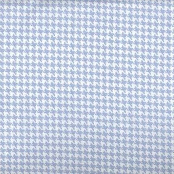 Houndstooth fabric,Light Blue and white houndstooth fabric,100% cotton,Quilt fabric,Apparel fabric,Craft,Sold by FAT QUARTER INCREMENTS