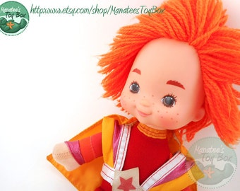 Rainbow Brite Red Butler Doll: Vintage 1980s Toy by Mattel