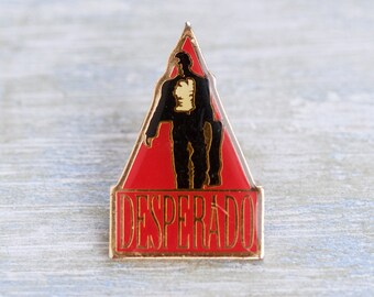 Desperado Fim Lapel Pin - Movie Fan Lapel Pin