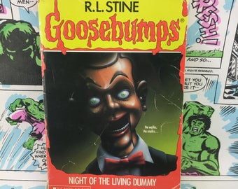 Goosebumps #7 - Night of the Living Dummy - R.L. Stine - Young Adults