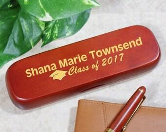 Personalized Rosewood Graduation Pen Set -gfy722140