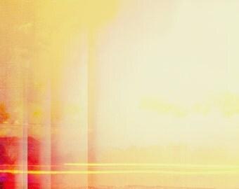 Modern Wall Art, Abstract Desert Landscape, Minimal Photography, Modern Home, Minimalist Interior, Contemporary Abstract Desert, Pink, Gold