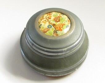 Vintage French Dresser Powder Trinket Music Box Cloches de Corneville