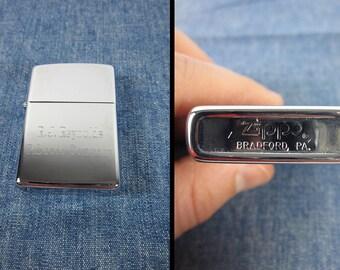 Vintage Zippo Lighter RJ Reynolds Tobacco Company NOS Chrome New Old Stock