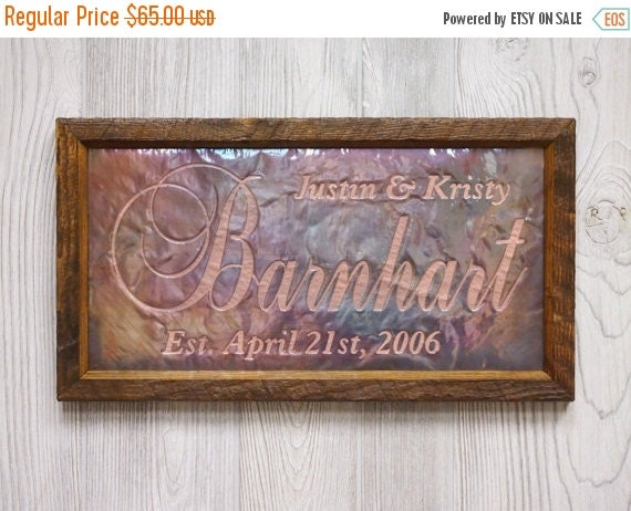 HOLIDAY SALE Personalized Wedding Sign, Unique Wedding Gift for couples, Custom Wedding Gift, Gift for Couple, Wedding Sign, Last name sign,