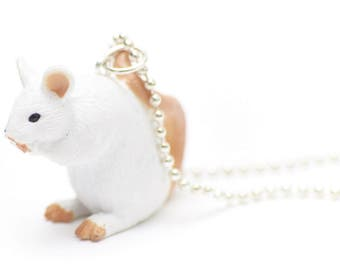 Rat Necklace Miniblings 80cm Rats Rats Necklace Halloween Horror know