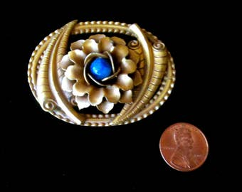 Antique Brooch Art Nouveau Aesthetic Period 1900s