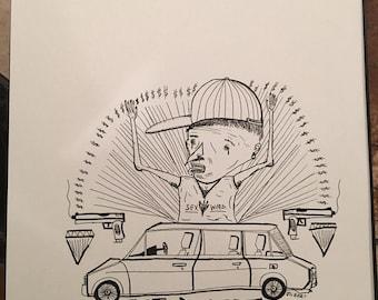 Get Dollars (original drawing)