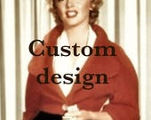 CUSTOM DESIGN – Send me a photo or drawing of your garment, and I'll make the pattern to your measurements!