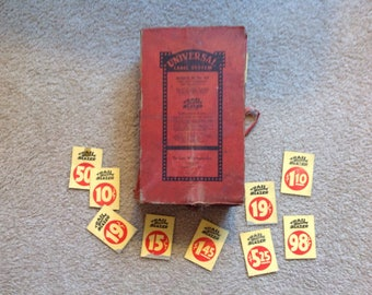 Antique Price Tags Book Labels 5&10 Mercantile Hardware Store 1400+Pcs Unused