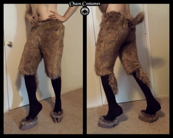 Faun Leggings and Hooves with Fur Uppers