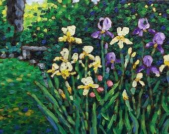 "Original Impressionist Oil Painting 11x14 ""Spring Blossoms"""