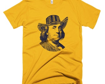 Original American DreamT-shirt - Benjamin Sombrero Vueltiao for Men. Perfect gift for Colombians living in the United States! Colombia. Gift