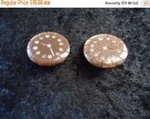 Now On Sale Vintage Rhinestone Clock Clip On Earrings Retro Collectible Costume Jewelry