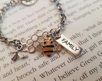 Busy Queen Bee bracelet.