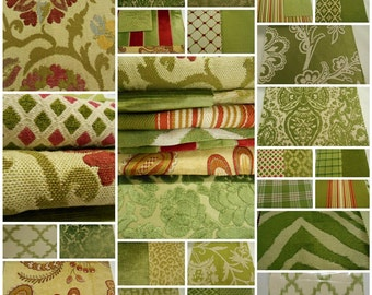 Highland Court- Fabric Sample Book -Greenwich Collections- Upholstery fabric Samples- 33pcs
