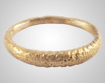 Authentic Ancient Viking  wedding Ring Band   C.866-1067A.D. Size 9  (18.8mm)(Brr1126)
