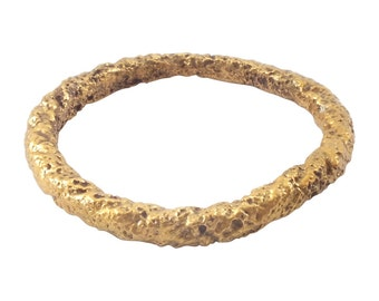 Authentic Ancient Viking  wedding Ring Band   C.866-1067A.D. Size 10 1/4  (20.2mm)(Brr1165)