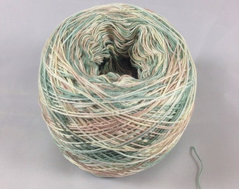 LIMITED AMOUNTS - Crochet Cotton - Size 20 - Hand Dyed - HDT - Stunning Desert - Your Choice of Length