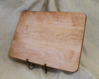 Cutting Board or Hardwood Carving Board Made of  Aged Maple