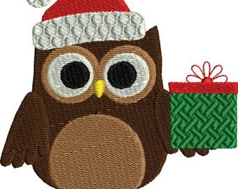 Christmas Owl 2