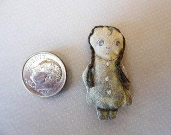 Sad Sack Primitive rag doll