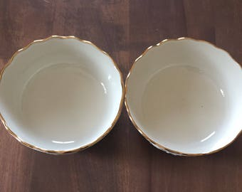 Lenox Ivory Rose Serving Bowls