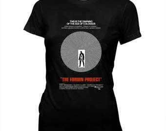 Colossus: The Forbin Project (1970) - Women's 100% cotton Pre-shrunk, hand screened T-Shirt