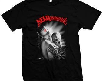 Nekromantik - Jörg Buttgereit - German Underground Horror - Pre-Shrunk, Hand Silk-Screened, 100% Cotton T-Shirt