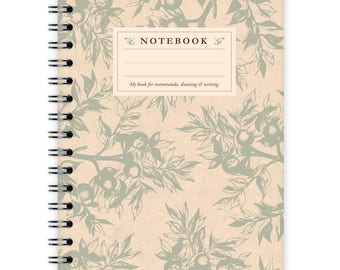 Notebook A6 - Branches Pattern