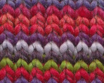 Euro Yarns Mapole Yarn - 100% Poly - Machine Washable - 100 yds./ball - Chunky Weight - Fireworks