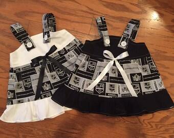 NHL LA Los Angeles Kings Baby Infant Toddler Girls Dress  You Pick Size