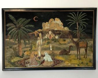 Vintage Arabic painting