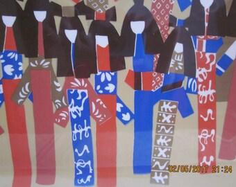 Vintage Vera Neumann Tray Midcentury Modern Tray Retro Vera NeumannJapanese Kimono Tray, Retro Tray, Mothers Day, Midcentury Decor